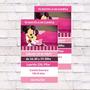 Invitaciones Minnie X10u