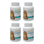 4 X Omega 3 Dog 500 Mg Organnact Frasco 15 G