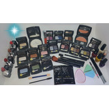 Kit Maquillaje Sombras Labiales Pinceles Bases Uñas Set