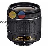 Nikon Tele Objetivo Nikkor Lens Dx 18-55mm F/3.5-5.6 G Vr