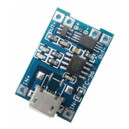 Modulo De Carga Micro Usb 5v 1a 18650 Tp4056 Bateria Litio