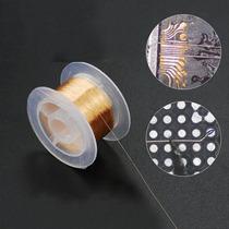 5 Piezas De Alanbre Esmaltado 0.1mm