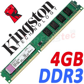 Memoria Ram Ddr3 Kingston 4gb 240 Pin Pc 3 12800 1600mhz