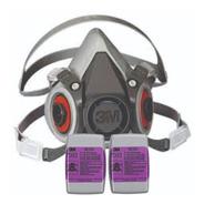 Respirador 3m 6200 + 2 Filtros 7093b P100