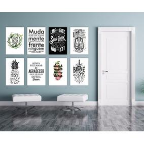 Placa Decorativa Pvc 20x30 Frases Motivacionais Bebidas