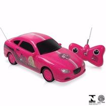 Carrinho De Controle Remoto Barbie Candide - Certificado