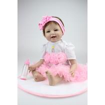 Boneca Reborn Linda Menina Princesa Bailarina Pronta Entrega