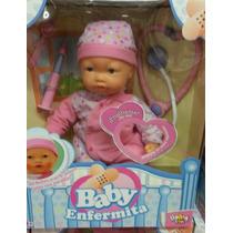 Muñeca Baby Enfermita, Como Lágrimitas Se Enferma