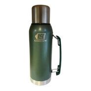 Termo Acero Inoxidable Lusqtoff 1 Litro Frio Calor Verde 1l