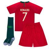 2017 2018 C Ronaldo 7 Soccer Jersey Shorts Calcetines You. c229b4b4afc8e