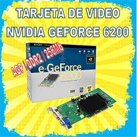 Tarjeta De Video Nvidia Geforce 6200 256mb Ddr2 Agp Tv Dvi