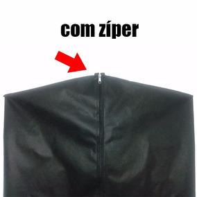 10 Capas Protetor De Vestido Blusas Blusões 100% Tnt C/zíper