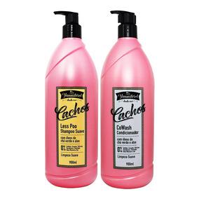 Kit Shampoo Less Poo Condicionador Cowash Yamasterol Yamá