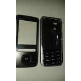 Carcasa Nokia 5610 Xpress Music Negro