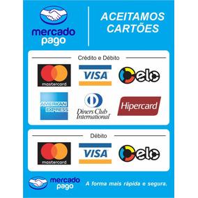 Adesivo De Cartao De Credito Hipercard - Point Mini