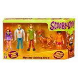 Scooby Doo Set 5 Personajes Articulados Cuartito Azul