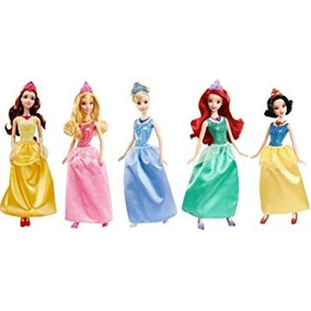 Vestido Princesas Barbie Disney - Pronta Entrega
