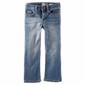 Jeans Carters Oshkosh Nena Bootcut Nuevos T2 T3 T4 T5