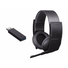 Headset Sony Pulse Wireless Sem Fio Stereo 7.1 Ps3 Ps4 Pc
