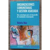 Livro Organizaciones Comunitarias Y Gestión Asociada