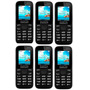 Kit 6 Celular Alcatel 1016d 4bd Dual Chip - Preço De Atacado