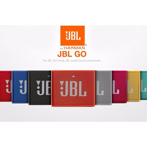 Jbl Go 3w Caixa De Som Speaker Bluetooth Original