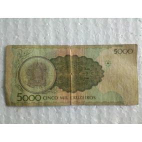 Cédula De 5000 Cinco Mil Cruzeiros (180b)