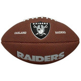 Bola Futebol Americano Wilson Oakland Raiders Frete Gratis