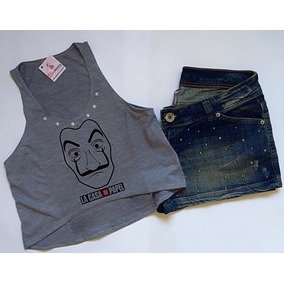 Camisetas+blusas+cropped+tipos Tamanho M - Camisetas e Blusas ... 8a0cb1e0982ed