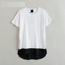 Camisa Camiseta Swag Alongada Oversized Ziper Justin Bieber