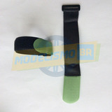 Conjunto De 2 Velcro Fita Preto P/ Bateria 25mm X 300mm
