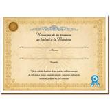 40 Diplomas Personalizados! Mejor Precio! Menos De 48hs!