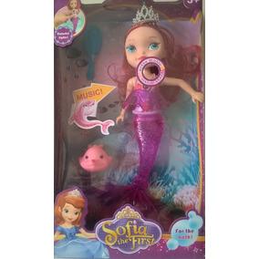 Disney Princesita Sofia Sirena Para El Baño Luz Música