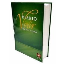Biblia De Estudio Del Diario Vivir Tapa Dura Ntv