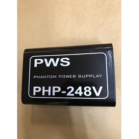 Pws - Php 248 V - Phantom Power Supply Php-248v - Cor Preta