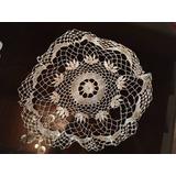Vendo Tapete Tejido De Crochet A Mano 44 Cm