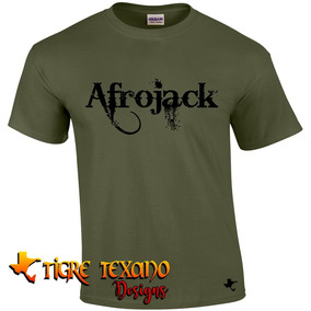 Playera Music Djs Afrojack Mod. 01 By Tigre Texano Designs