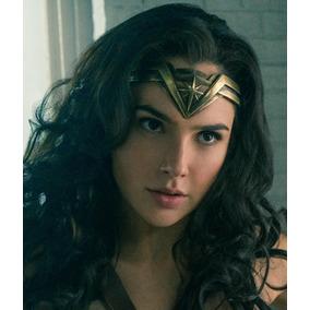 Tiara Mujer Maravilla Wonder Woman Disfraz Braceras Pelicula