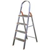 Escada Doméstica Em Alumínio 7 Degraus 136cm - Ágata