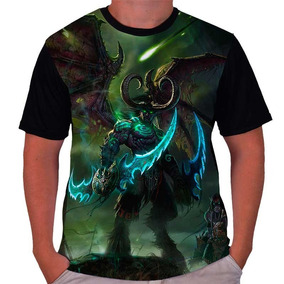 Camiseta Wow World Of Warcraft Illidan Legion Ultrastampa ebc4a8faf372c