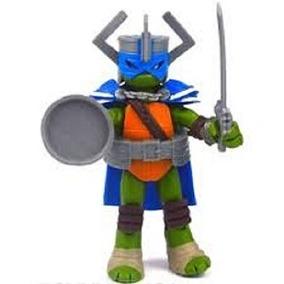 Boneco Tartarugas Ninja - Figura De Ação 12cm - Leonardo Cav