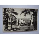 Postal Santa Fe Rosedal Y Estacion Ferrocarril Central 1931