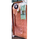 Puerta Oblak 2331 Madera Frente 90 Cm Marco Cerradura