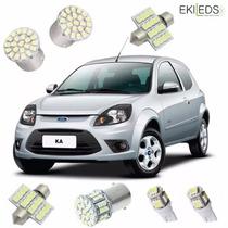 Acessório Kit De Lâmpadas Led Ford Ka (ano 2008 À 2013)