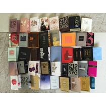 Amostras Perfumes Impotados Lote 5 Unidades Originais