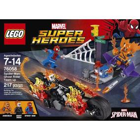 Lego Super Héroes 76058 Spider Man,motorista Fantasma 217 Pz