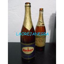 Bieckert Etiqueta Azul - Antigua Botella, Año 1957 Vacía