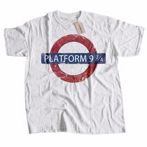 Camiseta Platform 9-3/4 Harry Potter Estação 9-3/4