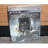 Dishonored -juego -ps3 -sellado