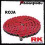Cadena Rk Roja Reforzada Con O Ring 520 X 118 Motocross